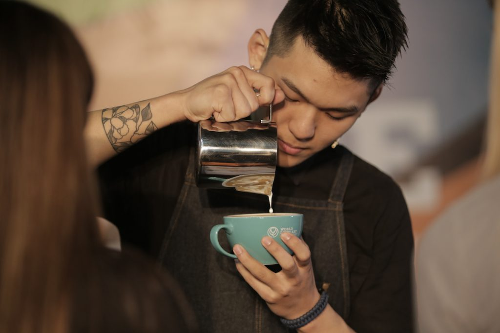 Irvine Quek, 2018 World Latte Art Champion